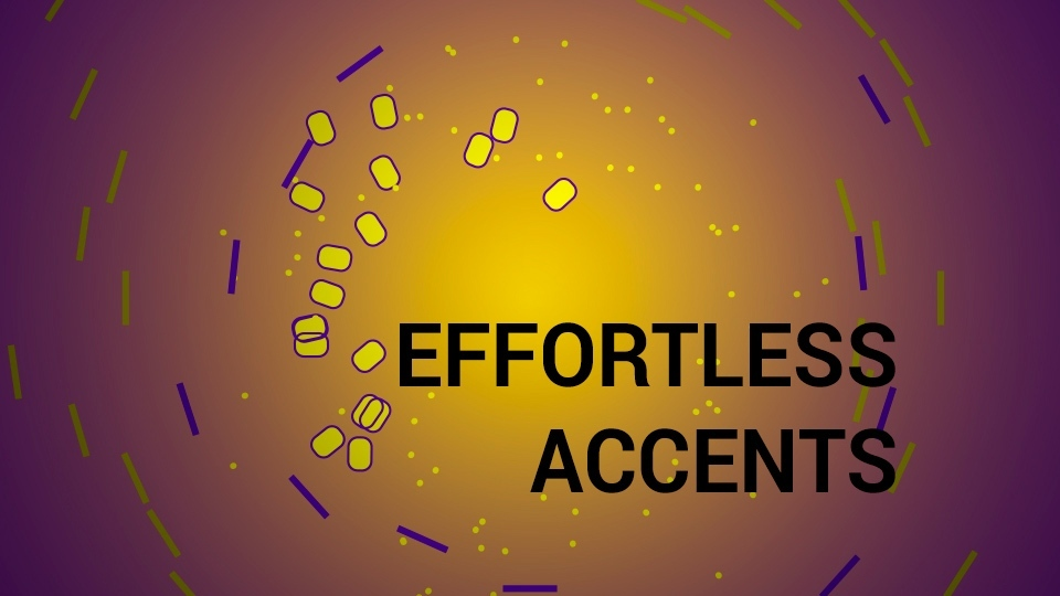 After Effects Script: Effortless Accents