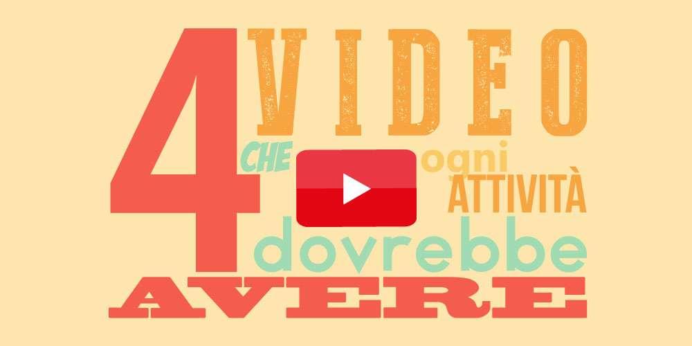 4 video che ogni attività dovrebbe avere