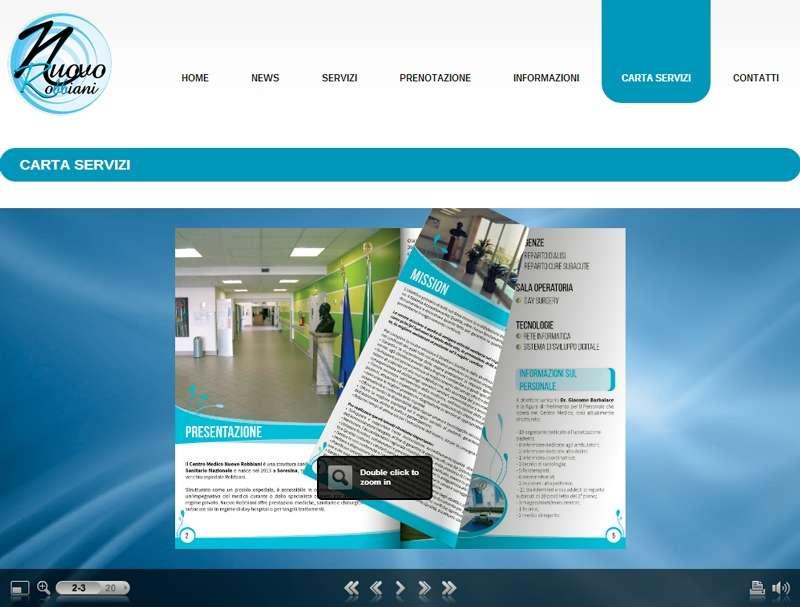 Sito web Nuovo Robbiani