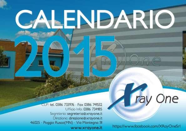 Calendario Xray One