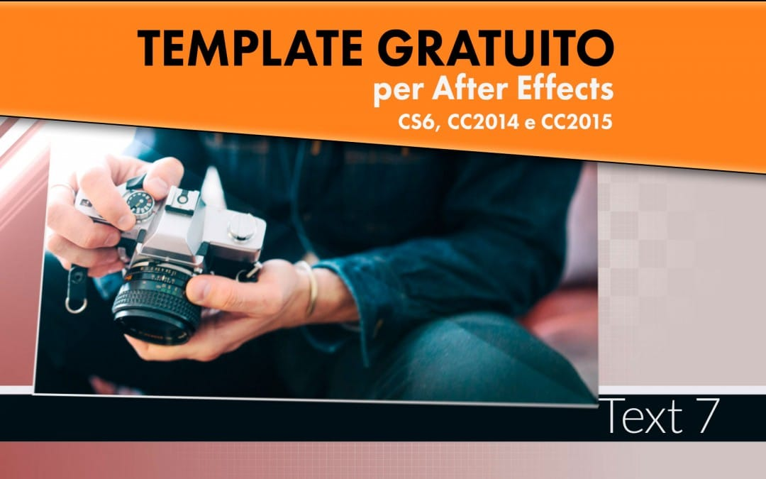 Template Gratuito per After Effects: Modern Slideshow
