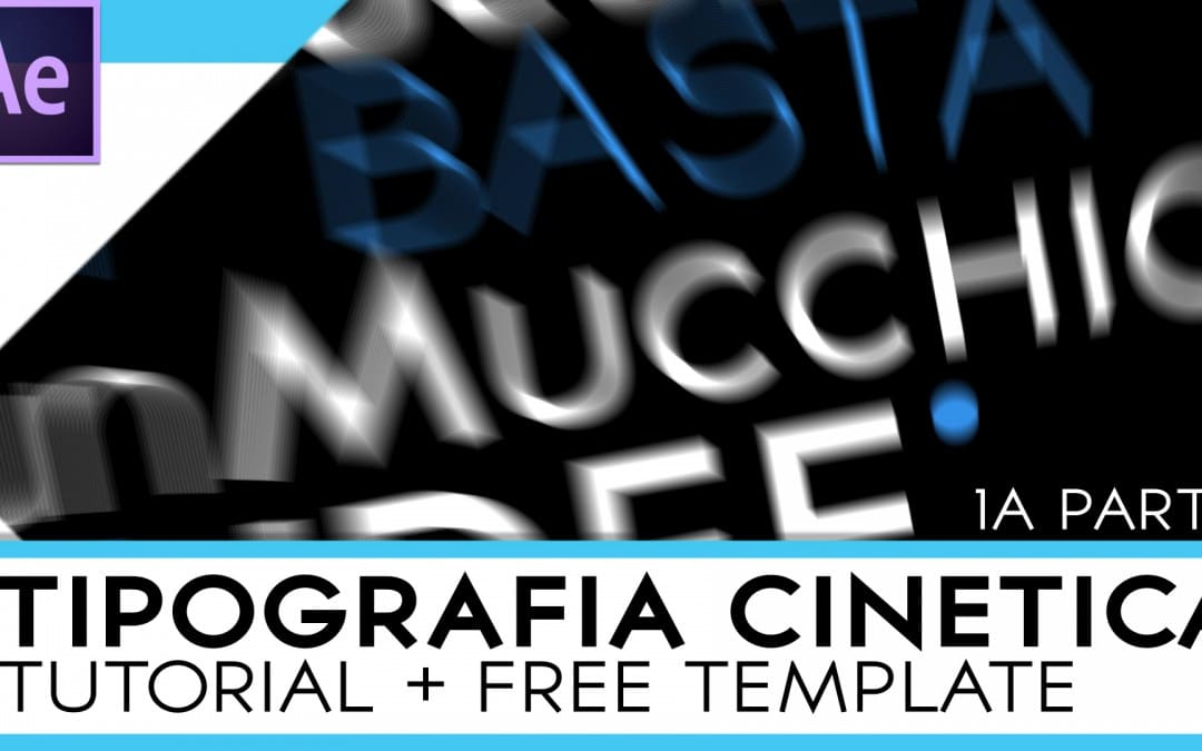 Tutorial Tipografia Cinetica parte 1