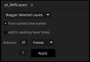 shift layers