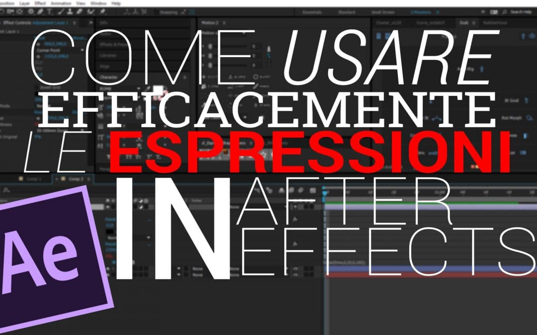 Espressioni in After Effects: Come Usarle Efficacemente
