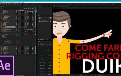 Tutorial After Effects: Come fare Rigging con Duik