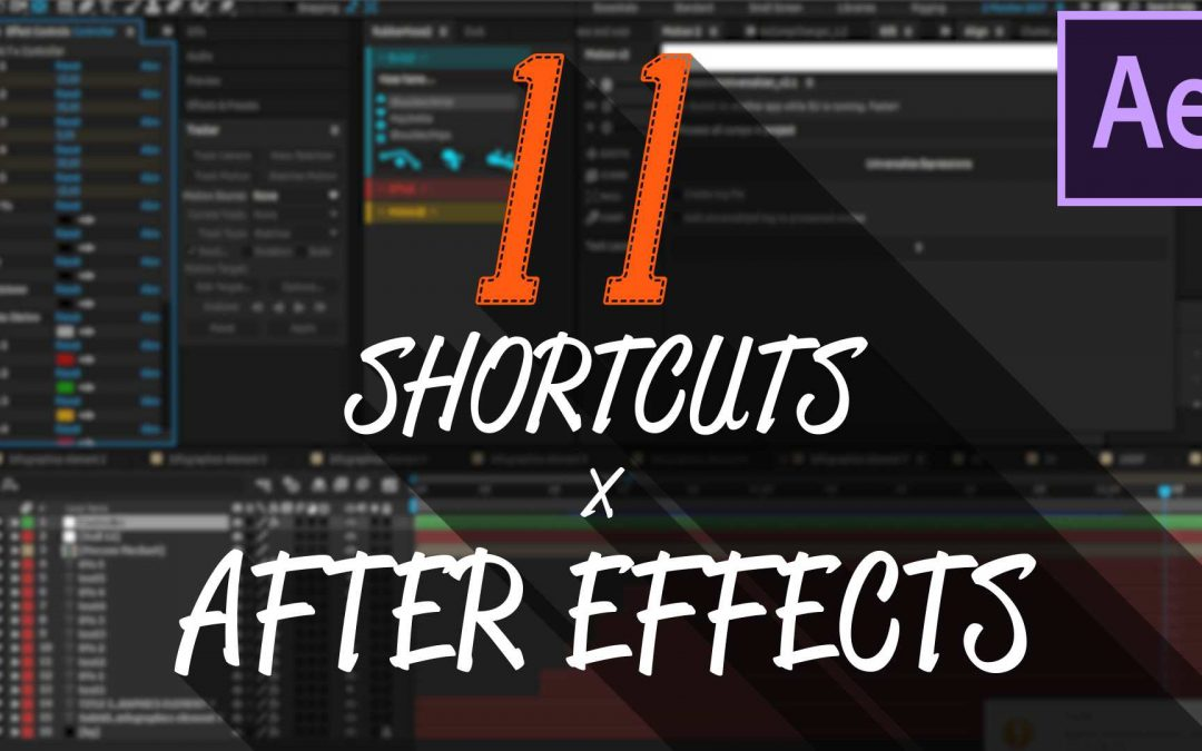 11 Scorciatoie Fondamentali per After Effects