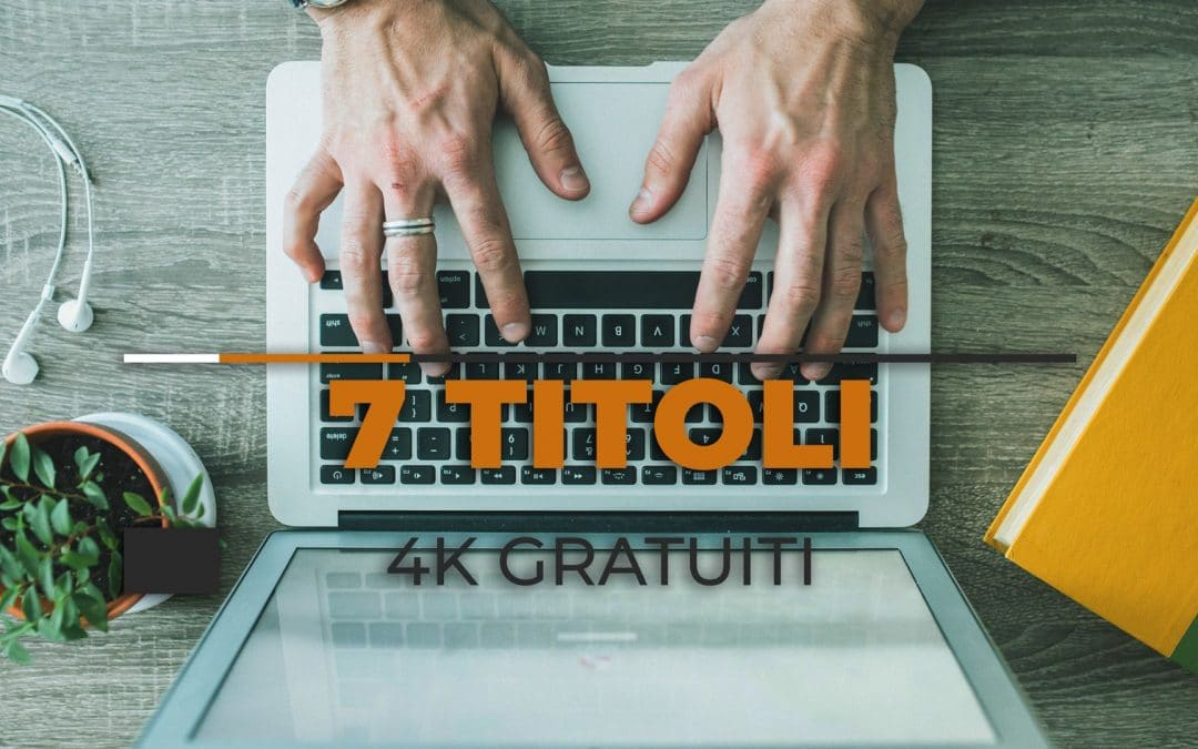 Template Motion Graphics 4K: 7 Titoli Moderni per After Effects e Premiere Pro