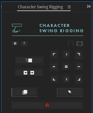 Character Swing Rigging - Script Character Animation